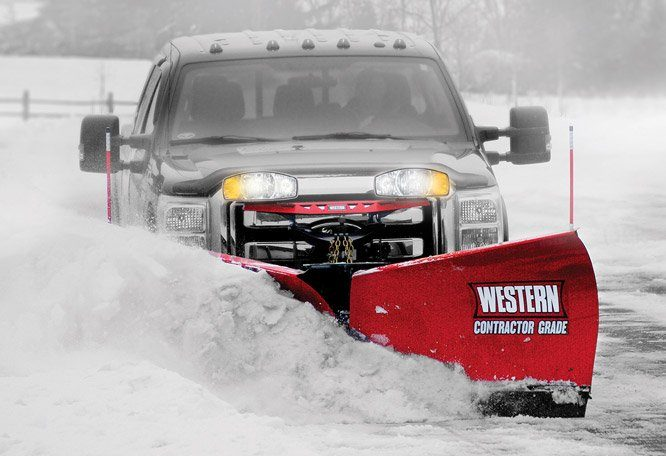 Tackle Snow & Ice with Western