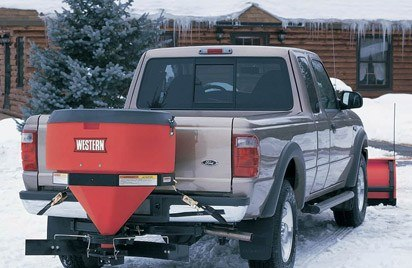 Low-Profile Tailgate Salt Spreaders